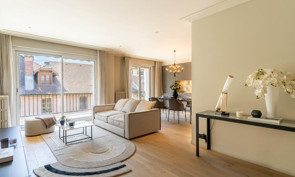 Vente appartement 4 pièces à ANNECY CENTRE VILLE -  - Photo 5