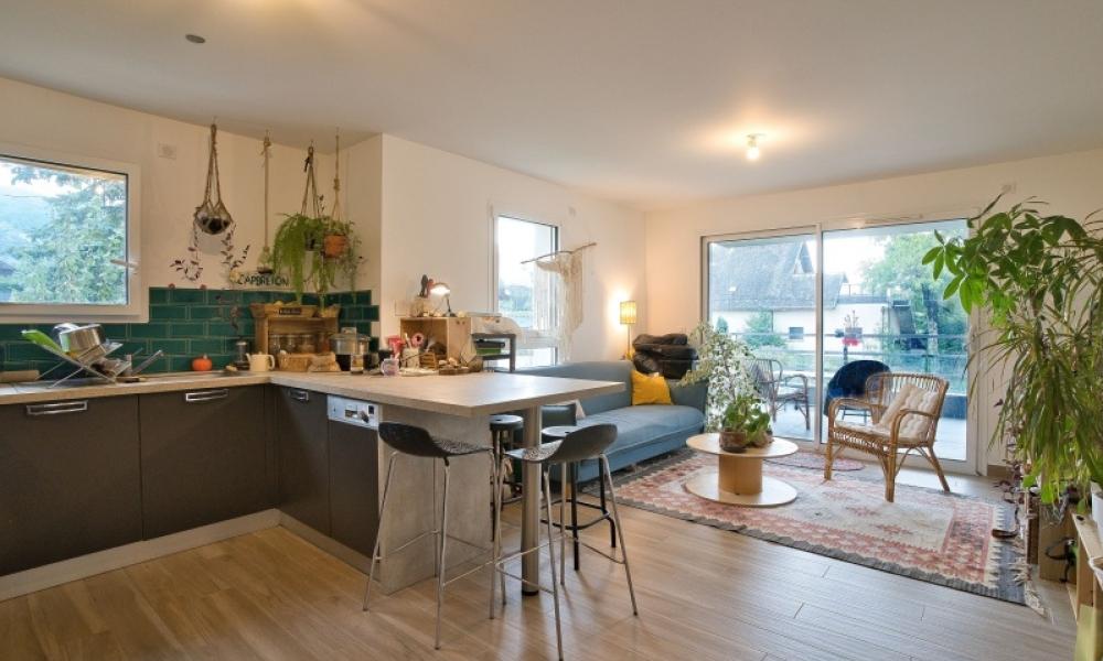 Location appartement 2 pièces à VILLAZ - réf. 7254 - Photo 2